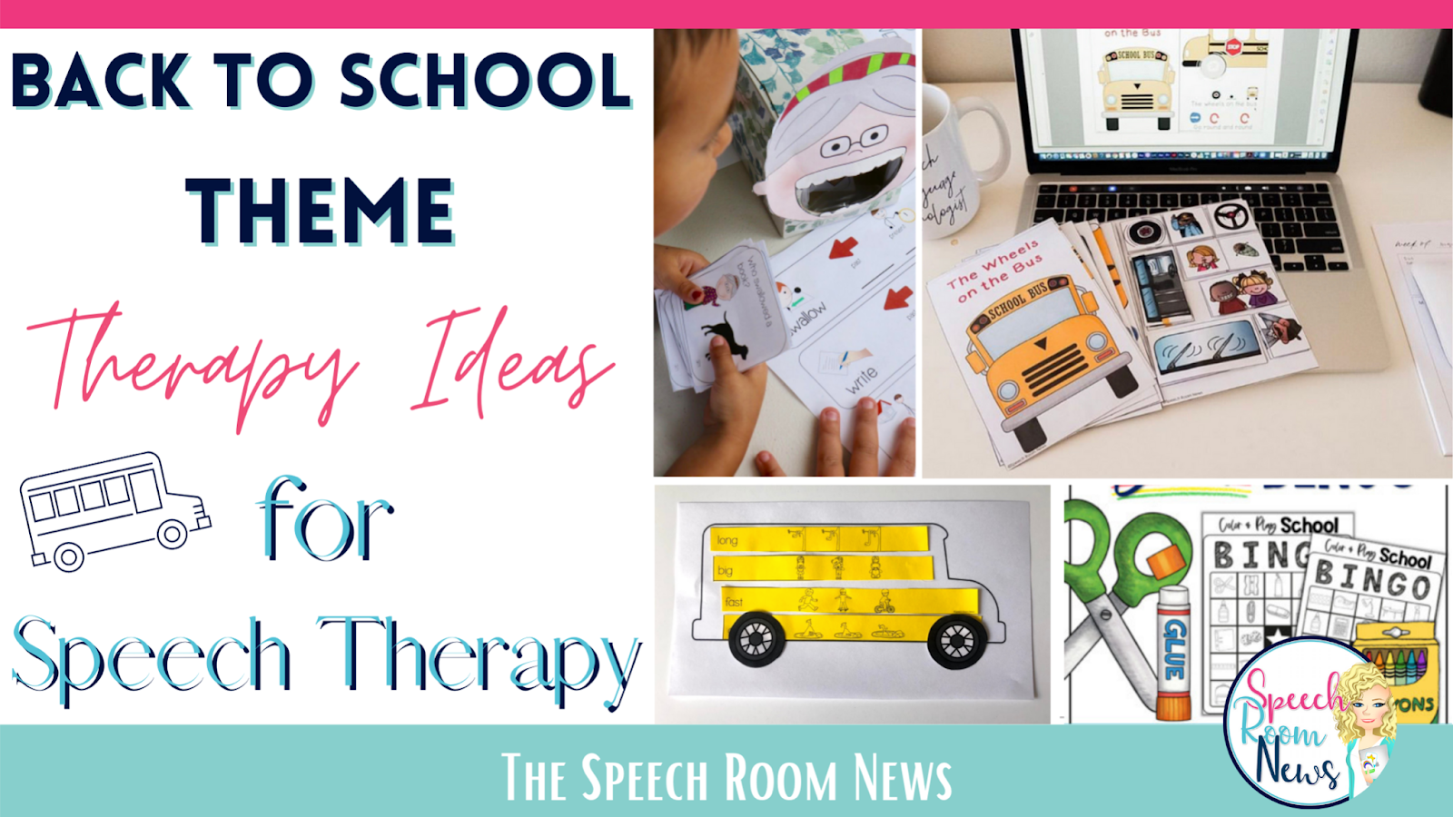 Back to School Theme Therapy Ideas for Speech Therapy