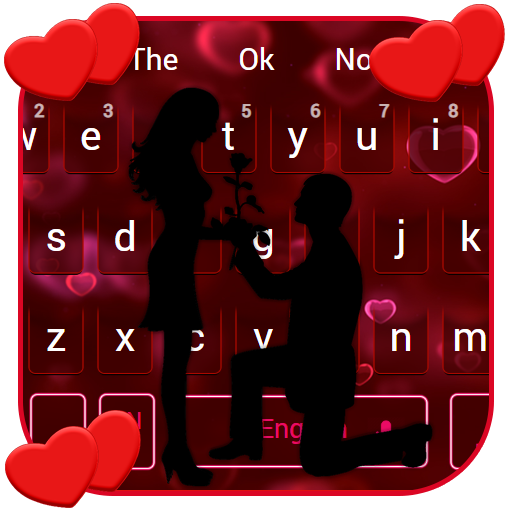 Cute Romantic Love Couple Keyboard Android APK Download Free By Android Themes Design Studio