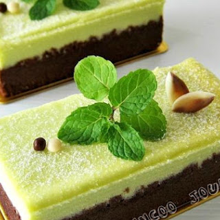 Chocolate Cheesecake With Mint