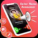 Caller Name Speaker & Flash on Call SMS icon