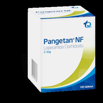 Pangetan NF 2mg Tabletas   Caja x100Tab. TQ Loperamida Clorhidrato