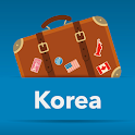 Korea offline map icon