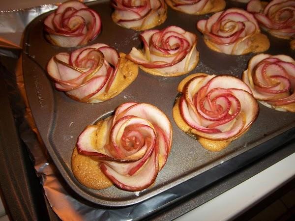 Let the tarts cool in the pan until they can be handled. To remove...