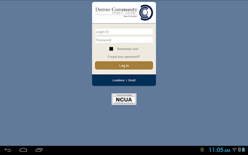 Denver Community CU mBanking- screenshot thumbnail