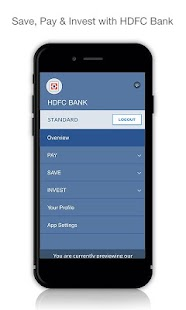 HDFC Bank MobileBanking (New) - náhled
