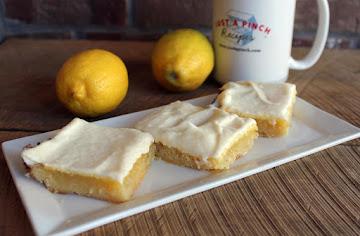 Melt In Your Mouth Lemon Bars Recipe