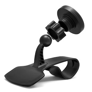 Suport magnetic Maclean MC-858, pentru smartphone, cu clema de prindere
