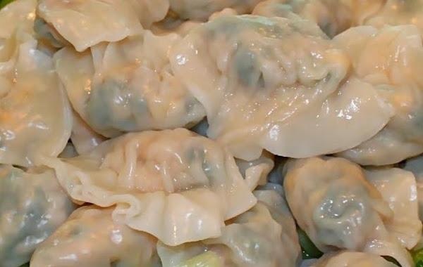 Shrimp And Snow Pea Wontons Recipe