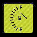 Petrol calculator donate icon