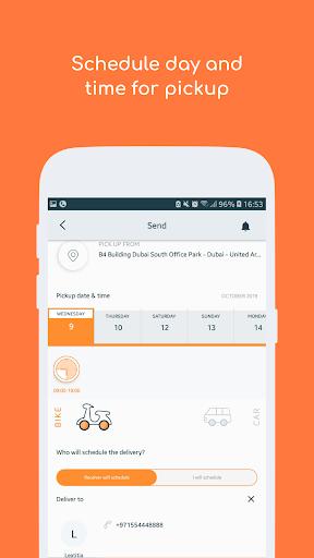 Fetchr - Pickup & Delivery screenshot