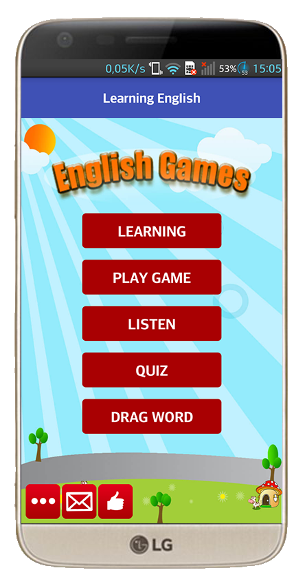 Learning English for kids- screenshot