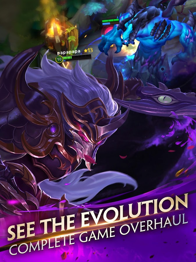 Heroes Evolved- หน้าจอ