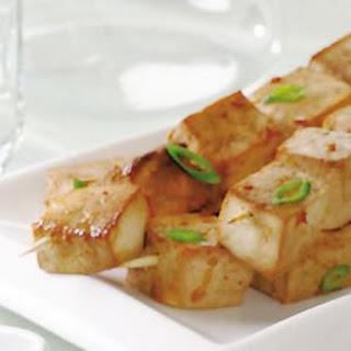 Indonesian Tofu Satés.