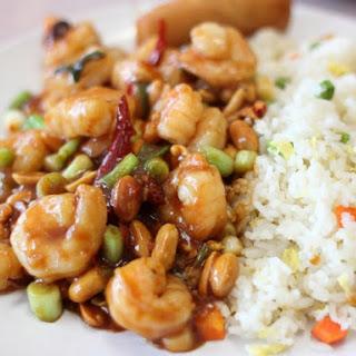 P.F. Chang's Kung Pao Shrimp.