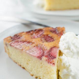 Strawberry Upside Down Ricotta Cake.