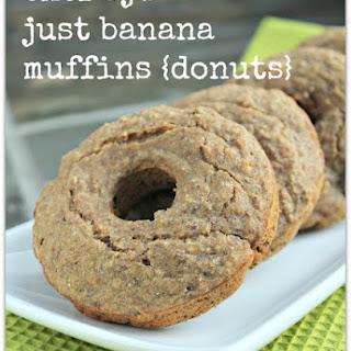 Chef Aj's Just Banana Muffins.