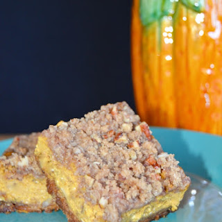 Pumpkin Bars with Pecan Crumble