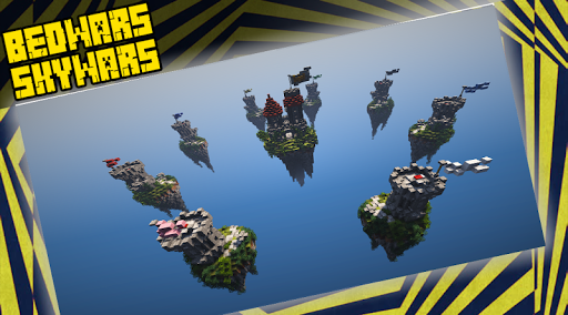 Code Triche BedWars & SkyWars Maps  APK MOD (Astuce) screenshots 1