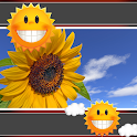 Sunflower Clock And Weather icon