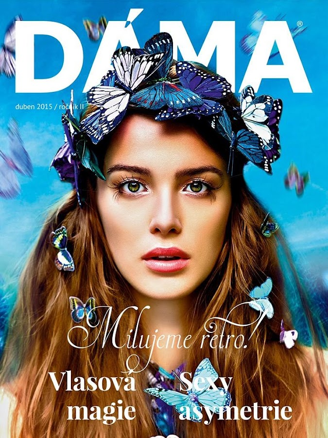 DÁMA luxury magazine- screenshot
