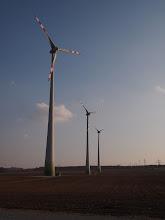 Photo: Wind plant close to Wien
