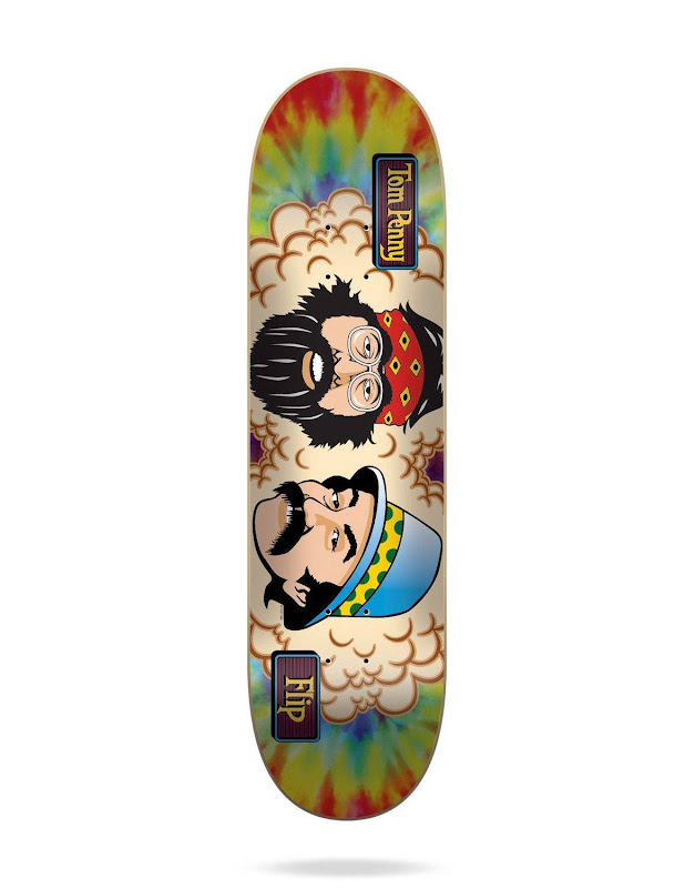 FLIP TOM PENNY CHEECH & CHONG MARY TIE DYE 8.13