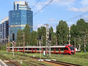 Photo: 35WE-001 (SKM Wwa), Piastów - Warszawa Falenica {Warszawa Zachodnia; 2014-07-13}
