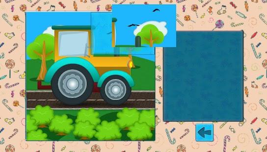 car puzzles for kids screenshot thumbnail