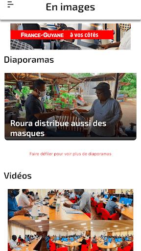 Capturas de pantalla de France-Guyane Actu 3