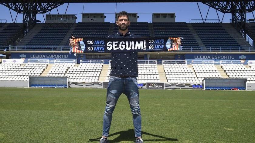 Molo ha vuelto a Lleida para hacer algo grande.
