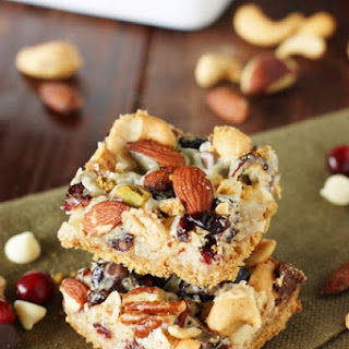 Mixed Nuts & Cranberry Magic Bars (Printable recipe)