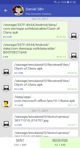 Software Data Cable 7.1 Screenshots 5