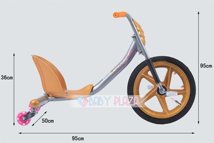 Xe đạp 3 bánh Drift PX-677 cho bé 5