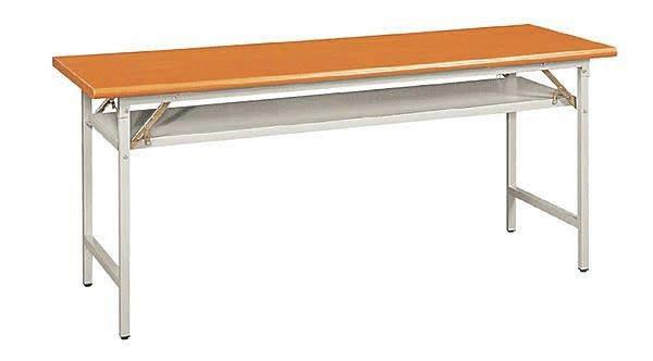※自運價※Q-TD-B190-13 木紋檯面折合會議桌