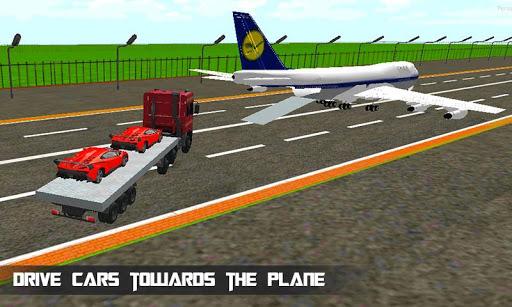 貨物飛行機車のトランスポーター