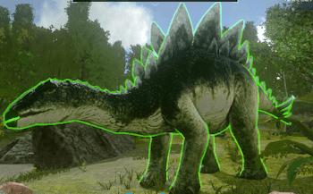ステゴサウルス テイム
