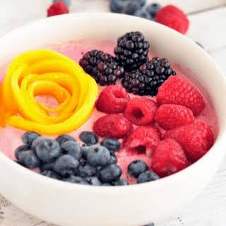 Fruity Yogurt Breakfast Bowl.