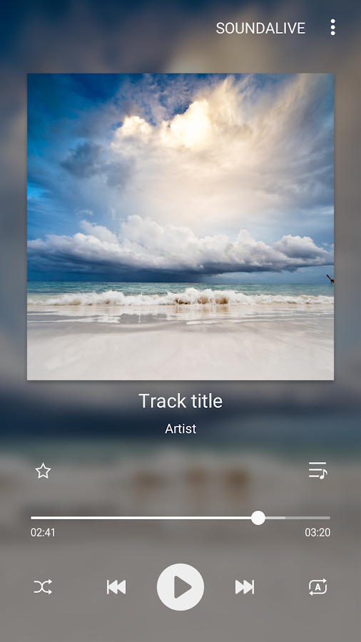 Samsung Music- screenshot