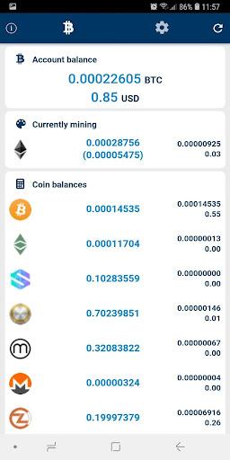 Mining Pool Hub Monitor  screenshots 1