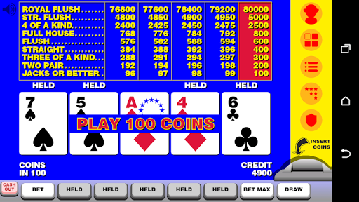 Video Poker with Double Up  screenshots 1
