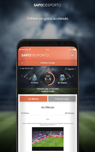 Futebol screenshot 3