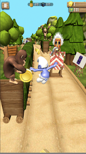 Smurf  Hero Run In Jungle 3D - náhled