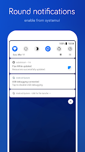 Flux White - Substratum Theme Screenshot