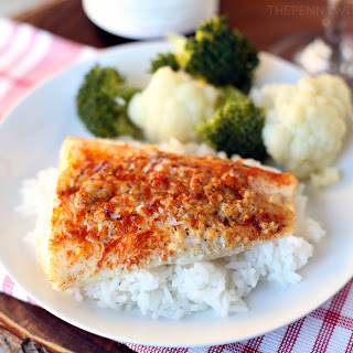 Lemon Baked Garlic Cod.