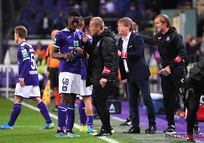 Milan Corryn ne voit pas Albert Sambi Lokonga quitter Anderlecht