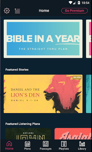Dwell: Audio Bible - screenshot