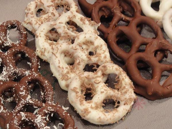 Chocolate Covered Pretzels Recipe
