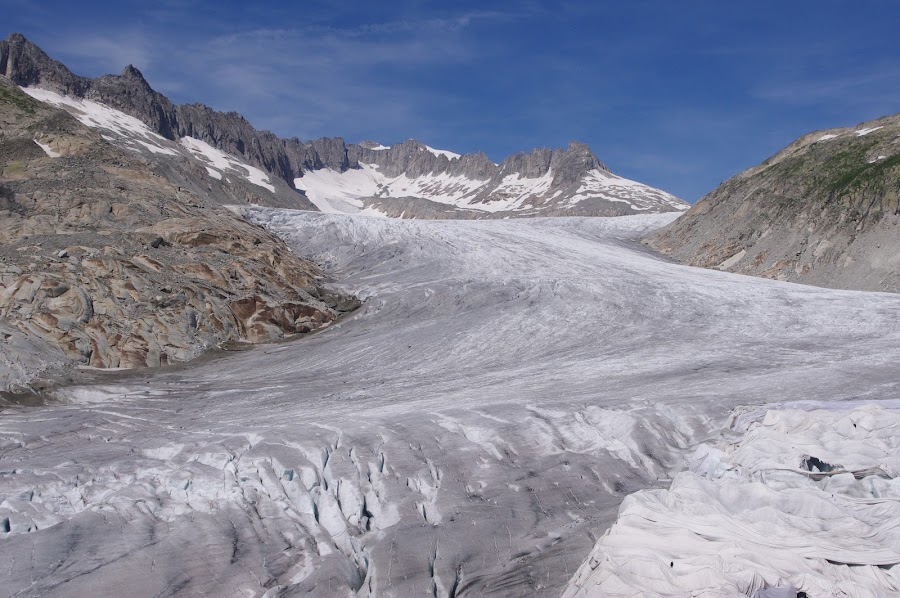 glacier by Maria Cavalcanti - Landscapes Mountains & Hills ( glacier ice swiss )