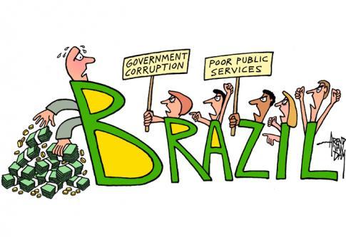A l 39 approche de la coupe du monde au br sil - Coupe du monde foot bresil ...