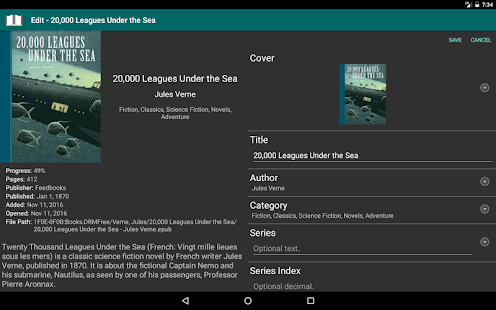 eLibrary Manager – Apps no Google Play